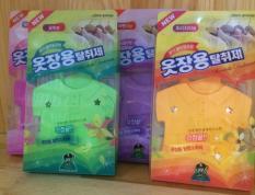 Combo 2 túi thơm treo tủ quần áo Sandokaebi Hàn Quốc