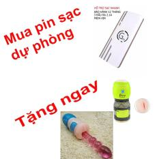 Pin sạc dự phòng G01 Litinum 20000MAH (Trắng) -hổ trợ sạc nhanh + tặng cáp sạc và DUNG CỤ HỔ TRỢ CHO NAM