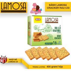 Bánh LAMOSA cracker rau cải 400g