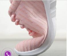 Giầy thể thao nữ kiểu Hàn Quốc giầy sneaker nữ êm chân thoáng khí K12 màu hồng, đen -AL