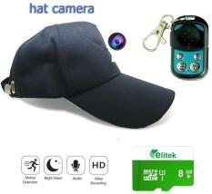 Nón Camera Đen Siêu Nét + Thẻ Nhớ 8GB