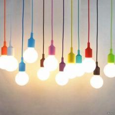 Dây đèn thả nhiều màu sắc E27 60W – Không bao gồm bóng