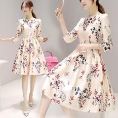 Đầm thời trang nữ chất liệu thun , sang trọng quý phái 108