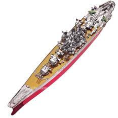 Mô hình lắp ghép kim loại 3D Piececool Yamato (Đỏ Bạc)