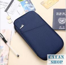 Túi đựng Passport, giấy tờ du lịch siêu tiện lợi, 11 ngăn.DL10-TPass
