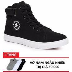 Giày Boot Nam Cao Cổ CV OCCO + 1 đôi tất tặng kèm