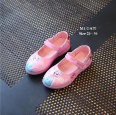 Giày Công Chúa Elsa Hồng Xinh Xắn Cho Bé Gái 3 – 12 Tuổi GA70