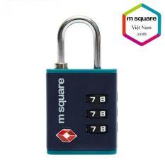 Ổ khóa số vali TSA007 nhựa cao cấp 3 số M.square hàng chính hãng