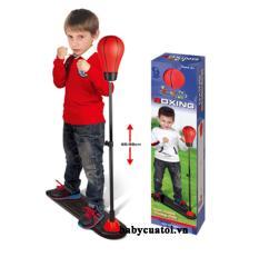 Bóng đấm lắc lư + tặng găng tay rèn luyện sức khoẻ cho bé _ Hàng nhập khẩu
