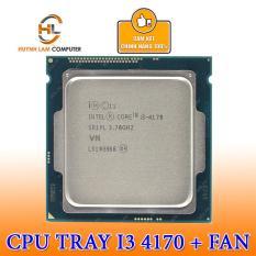 Intel Core I3-4170 (Tray) 3.7Ghz Socket 1150 Kèm Fan