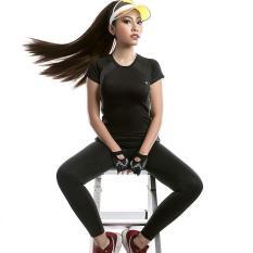 Áo tập gym/yoga cổ tròn năng động, hiện đại