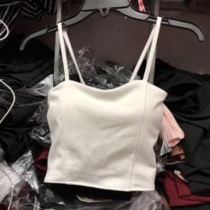 Áo hai dây croptop có mút ngực sexy