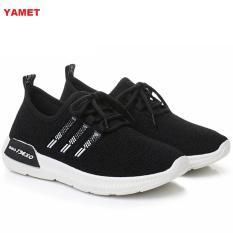 Giày Sneaker Thể Thao Nữ YAMET Siêu Hot YN9-319B Màu Đen