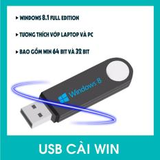 USB Bộ Cài Đặt Hệ Điều Hành Window 8.1 32bit/64bit Full Editon 2018 Auto – Tích Hợp Sẵn Bộ Phần Mềm Cơ Bản.