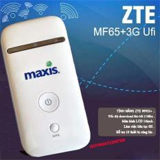 Bộ phát sóng wifi từ sim 3G/4G ZTE MF65 – Phiên bản Maxis (Trắng)