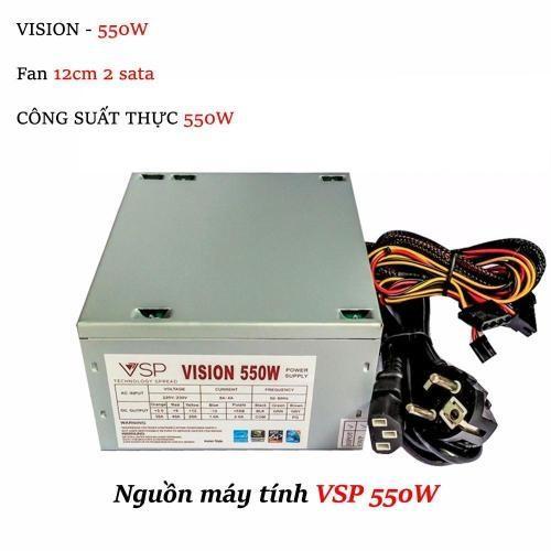 Bảng Giá Bộ Nguồn Máy Vi Tính Desktop PC Vision 550W (NEW 100%) Tại CAMERA QUAN SÁT VÀ MÁY TÍNH