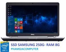 Laptop Dell Latitude E6430 Core i7 3520M Ram 8G SSD 250G VGA NVIDIA NVS5200M GTA5 Đồ họa – Hàng nhập khẩu-Tặng cặp Dell + chuột wireless
