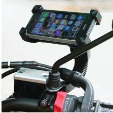 Giá đỡ điện thoại kẹp 4 góc gắn kính chiếu hậu xe máy 6TI43 – Loại chất lượng