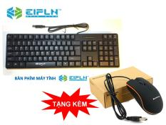 [Nhập ELJAN11 giảm 10%, tối đa 200k, đơn từ 99k]Bàn phím EIPLN E-30 + Tặng chuột Lenovô