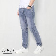 [Giảm Sâu Chào Hè] Quần Jeans Bò Nam Trẻ Trung Cực Chất Phong Cách Hàn Quốc