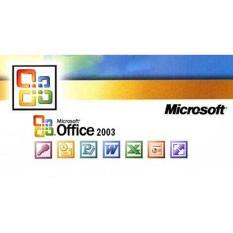 Đĩa VCD Office 2003 văn phòng kích hoạt bằng CD-key