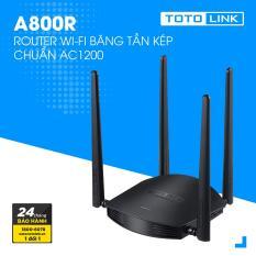 Router Wi-Fi băng tần kép AC1200 – A800R – TOTOLINK