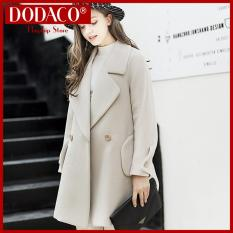 Female evening gown fashion female jacket DODACO DDC1957 – 347RX (Gray)