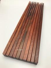 Bộ 10 đôi đũa ăn gỗ Cẩm Lai cao cấp (H)