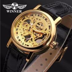 Đồng hồ cơ nam Winner dây da