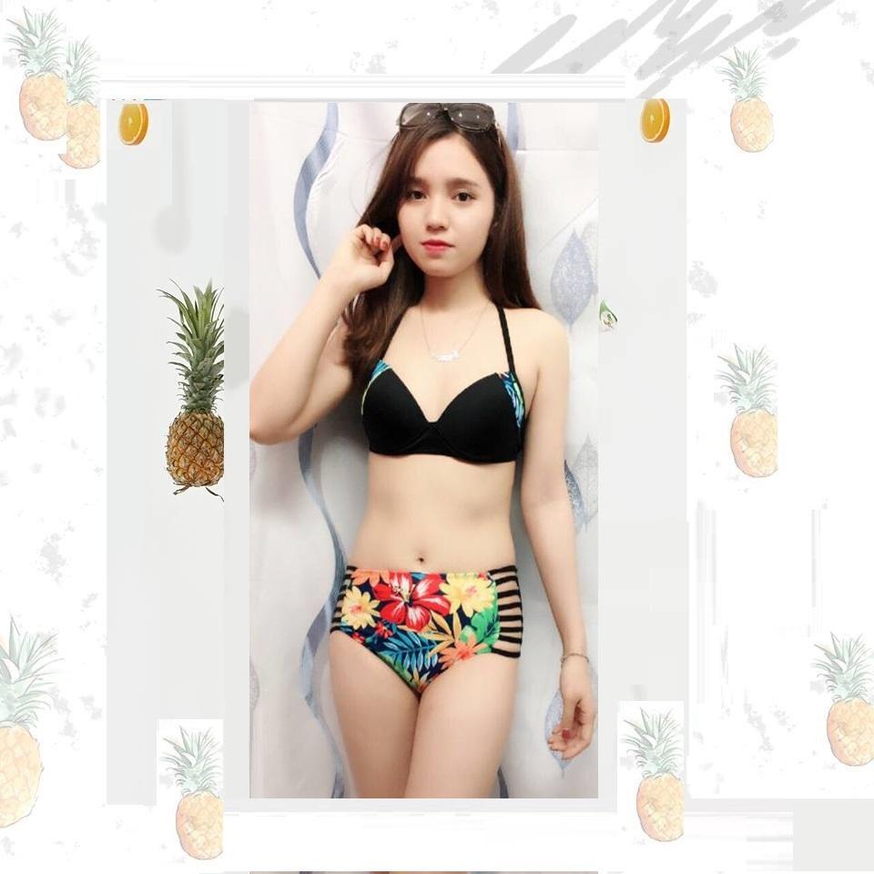 Đồ bơi nữ EVABIKINI 2 mảnh sắc màu gợi cảm B-03