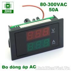 Đồng hồ đo dòng, áp xoay chiều 80-300V, 50A