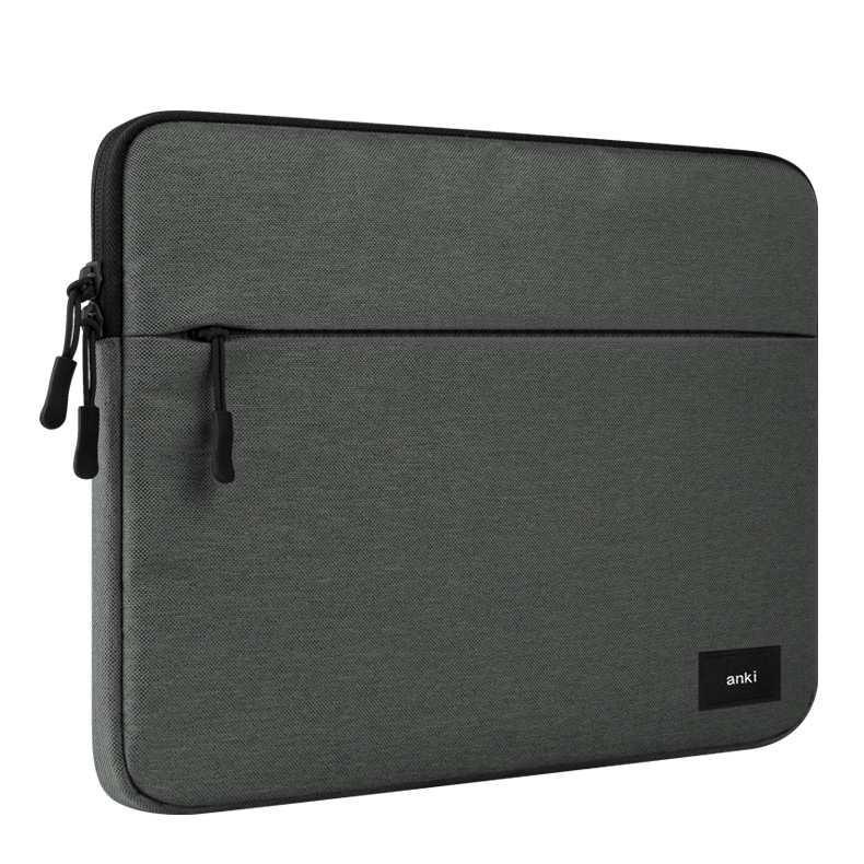 Túi chống sốc Laptop 15.6inch màu xám đậm