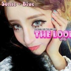 lens mắt blue