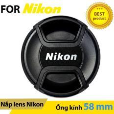 Nắp ống kính Lens cap Nikon 58mm