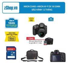 Nikon D3400 +Nikon AF-P DX 18-55mm F/3.5-5.6G VR