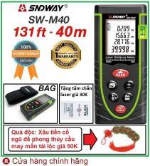 Thước đo khoảng cách bằng tia laser SNDWAY SW-M40 phạm vi đo 40M và SW-M60 phạm vi đo 60M