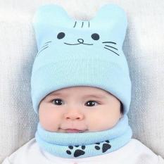 Mũ len tai mèo cho bé 1-36 tháng dành cho bé nam và nữ siêu kute