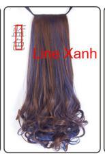 Tóc Giả Cột 2 Line xoắn đuôi Cao Cấp [45cm-100g] Shoptido
