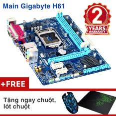 Bảng mạch chính Gigabyte H61M-DS2 Nhập khẩu – Khuyến mại chuột wifi