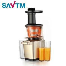 [Xả kho 3 ngày đón tết]Máy Ép Chậm Giàu Vitamin SAVTM New Version 2018 công suất lớn 250W Model JE220 (trục ép kèm dao cắt) Midea Mart