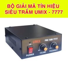 Sound Card giải mã tín hiệu Sub siêu trầm UMIX – 7777 Chuyên dùng Nghe nhạc, Karaoke, Nhạc sống