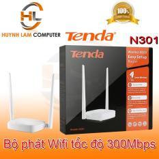 Bộ phát wifi Tenda N301 Microsun phân phối – Router wifi Tenda N301