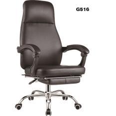 Ghế văn phòng thư giãn ngả lưng gác chân thoải mái MN-G516-U1 (Đen)