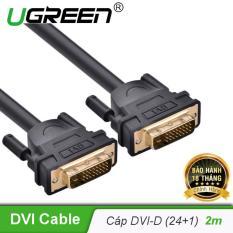 Cáp tín hiệu DVI-D (24+1) 2 đầu đực dài 2m UGREEN DV101 11604 – Hãng phân phối chính thức