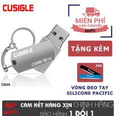 USB 32Gb Cusigle CS88 2018 – Tặng Vòng đeo tay Silicone Pacific