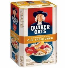Bột yến mạch Quaker oats Mỹ 4.5kg (Nguyên hạt cán dẹp)