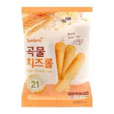 Bánh Xốp Ngũ Cốc Nhân Phô Mai Grain Cheese Roll Hàn Quốc 80g