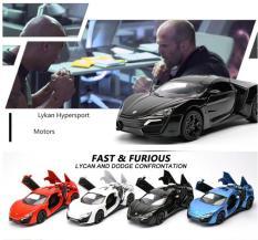 Xe ô tô siêu xe làm bằng hợp kim cao cấp mô phỏng Fast & Furious