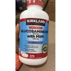Viên uống bổ khớp Glucosamin Kirkland Signature 375 viên