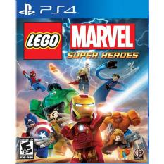 Đĩa game PS4 : Lego Marvel Super Heroes